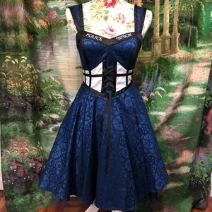 Doctor Who Tardis Hot Topic Party Dress